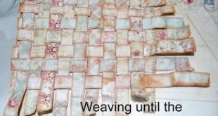 Step by Step Paper Weaving by Marilyn Rivera