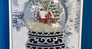 Technique Tuesday~ Episode 13~ REAL Snow Globe Card
