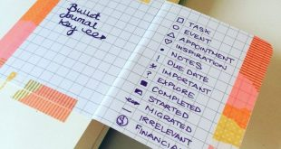 The Perfect Bullet Journal Key