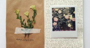 Unknown artist (found through Pinterest) (Art Journaling)