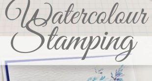 Watercolour Stamping: Pretty Graduated Petals in Six Easy Steps Learn to create ...